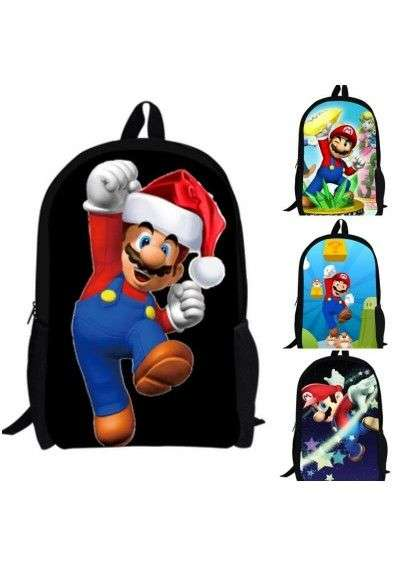 Cartable Super Mario Bros enfants sac à dos
