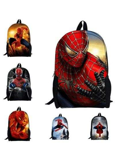 Cartable enfants spiderman mixte sac à dos