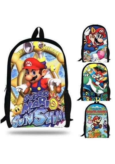Cartable enfants Super Mario Bros sac à dos