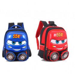 Cartable école CARS 3D 2 coloris