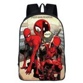 DEADPOOL VS SPIDERMAN Cartable sac à dos imprimé SPIDERMAN – Modèles uniques