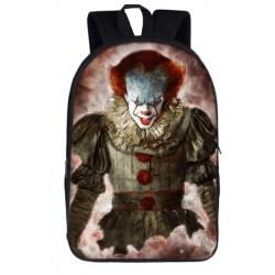 Le clown Horror movies sac à dos cartables imprimés ados