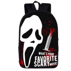 SCREAM Horror movies sac à dos cartables imprimés ados