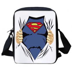 SUPERMAN Sacoche pochette  bandoulière imprimée 3D