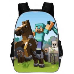 Cartable Minecraft jeu vidéo sac à dos Gaming