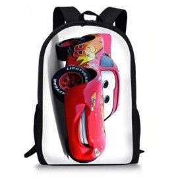 Cartable imprimé sac à dos CARS enfants de classes maternelle et primaire