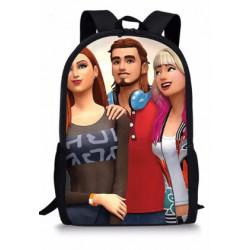 THE SIMS cartable sac à dos imprimé