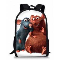 Cartable enfants  ratatouille sac à dos