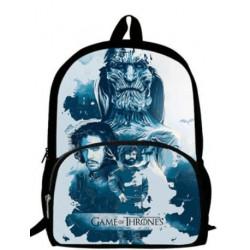 cartable Game of Thrones ados sac à dos imprimé série Tv poche extérieure