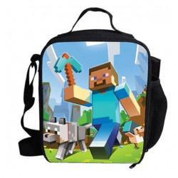 sac à goûter Minecraft lunch bag Gaming