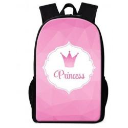 Cartable princesses imprimé 3D pink collection
