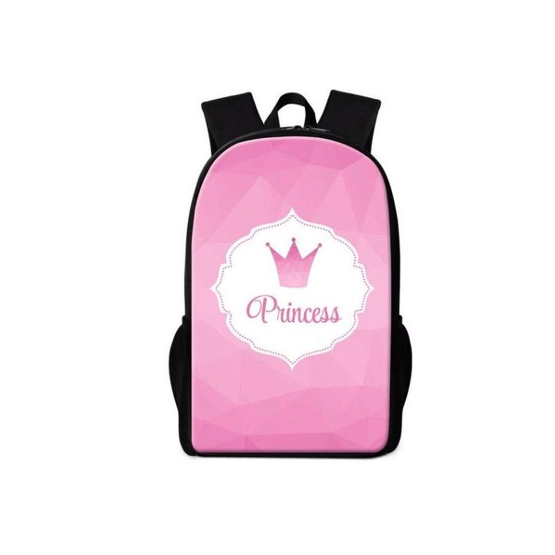 Cartables princesses imprimé 3D pink collection