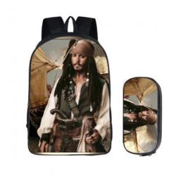 Cartables enfants pirates des caraibes sac à dos
