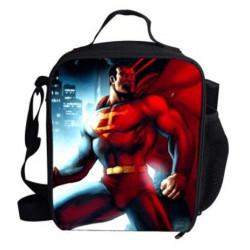 Luch bag  sac à repas  isotherme SUPERMAN imprimé 3D