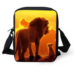 Sacoche LE ROI LION imprimée 3D avec bandoulière