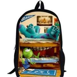 Cartable sac à dos Monstres & Cie imprimé 3D