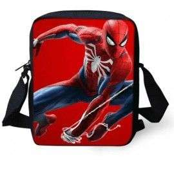 Sacoche Spiderman imprimée 3D avec bandoulière