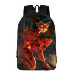 Cartable Miraculous LadyBug et chat noir imprimé 3D