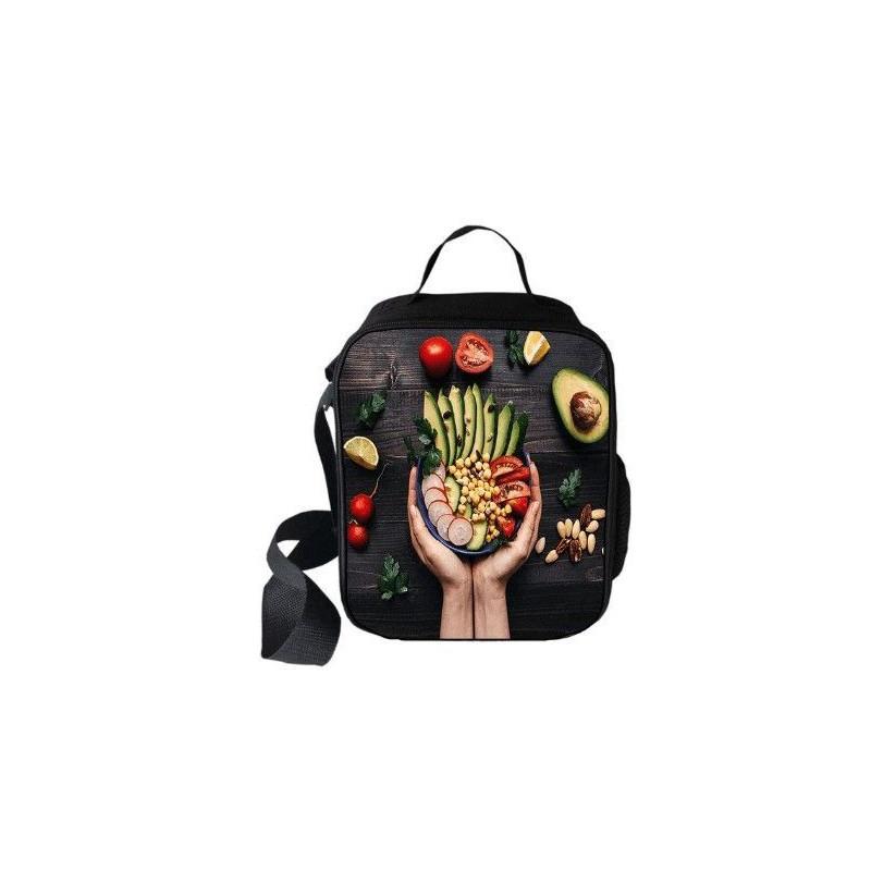 """Sac à repas """"Friend not food"""" Secial Vegan imprimé 3D"""