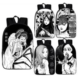 Cartable manga JUNJI ITO sac à dos imprimé 3D