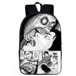 Cartable JUNJI ITO sac à dos manga imprimé 3D