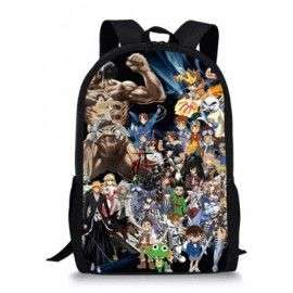 Cartable enfants mangas Naruto