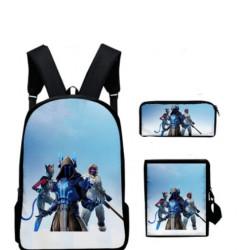 Pack FORTNITE cartable sac à dos + trouse + Sacoche ou Lunch bag Fortnite