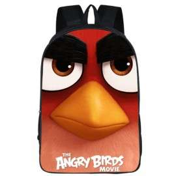 Pack imprimé angry birds cartable + Trousse assortie