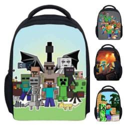 school bag Minecraft backpack for kindergarten