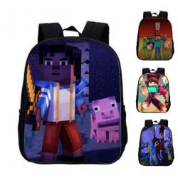 Cartable sac à dos MINECRAFT pour classes de maternelle
