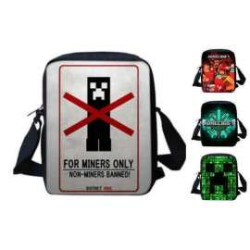 Minecraft crossbody messenger bag