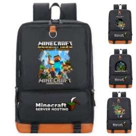 school bag Minecraft backpack kids and teens