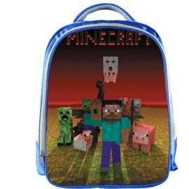 MINECRAFT school bags backpack kids and teens