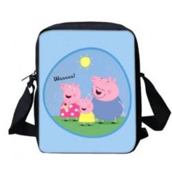 Peppa pig crossbody messenger bag