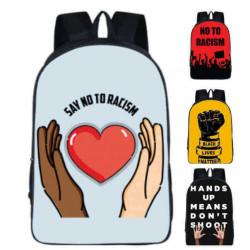 sac à dos anti-racisme imprimé pour collèges et lycées