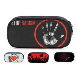 Not to racism pencil case for teenagers and young adults
