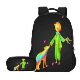 THE LITTLE PRINCE 2 pieces school pack backpack + pencil case