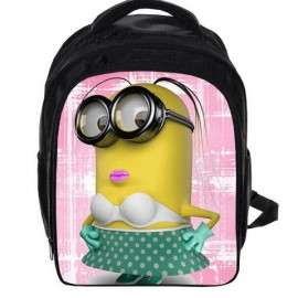 Backpack Minions for Kindergarten