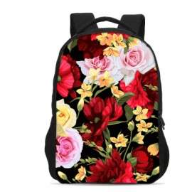 spring flowers Girls backpack