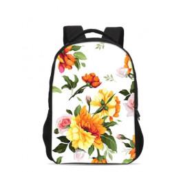 Cartable sac à dos filles Fleurs de printemps