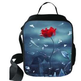 Amazing selection of school messenger bags for girls on the theme of Spring flowers