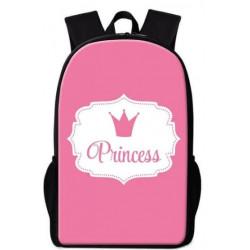 Cartables princesses imprimé 3D rose